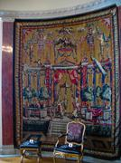 Tapestry in Kungsholmen (Sweden) Stock Photos