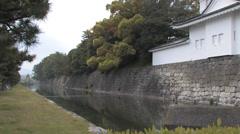 Nijo Castle Stock Footage