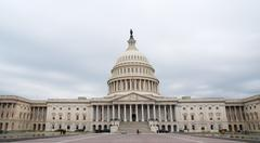 Stock Photo of US Capitol, Washington DC