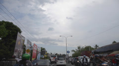 Road Trip Timelapse in Java INDONESIA Stock Footage