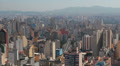 Traffic in the city. Sao Paulo, Brazil. View of the city. Time lapse HD Footage