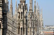 Stock Photo of Cathedral of Milan, Duomo di Milano, Italy