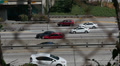 Freeway Traffic 96fps 05 Slow Motion x4 Los Angeles Downtown Footage
