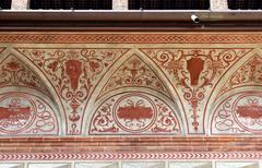 Stock Photo of Decoration in Sforza Castle, Milan, Italy