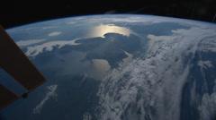 Western Europe and Arabian Peninsula at Dawn - stock footage