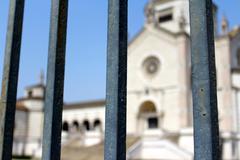 Cemetery Monumental, Cimitero Monumental, Milan, Itay - stock photo