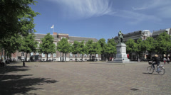 The Hague, The Netherlands, Het Plein Stock Footage