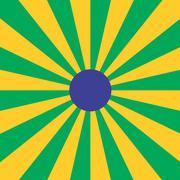Stock Illustration of Brazilian Sun Beam