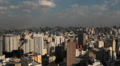 View of the city. Sao Paulo, Brazil. Footage