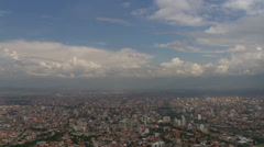 City time lapse from Cochabamba, Bolivia Stock Footage