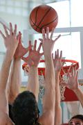basketball competition concept - stock photo