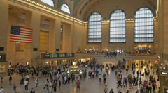 Grand Central Station in New York City. Stock Footage