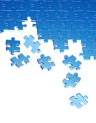Puzzles Stock Illustration