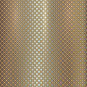 Stock Illustration of Vector gold grille on steel background