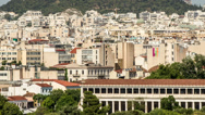 Stock Video Footage of Lykavittos Hill, Athens, Greece,Tilt Up - High Quality Timelapse