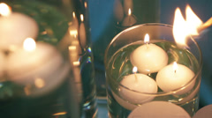 Candle Lighting Stock Footage
