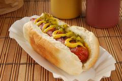 Relish dog - stock photo