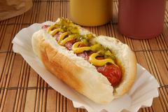 Relish dog Stock Photos