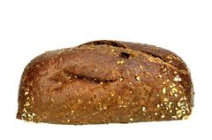 Stock Photo of Pumpernickel roll
