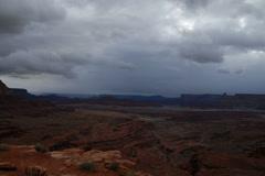 Canyonlands timelapse utah Stock Footage
