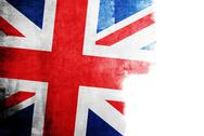 Stock Photo of Grunge flag of Great Britain