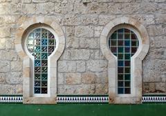 Calpe. Välimeren Espanjan merenrantakaupungissa historiallinen vanhakaupunki cent Kuvituskuvat