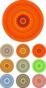 Mandala - stock illustration