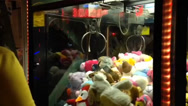 Stock Video Footage of Claw Crane Game