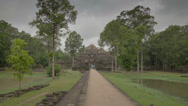 Stock Video Footage of Way to Phimeanakas temple hyperlapse 4K