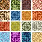 Traditional pattern Stock Illustration