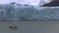 Perito Moreno Glacier in Patagonia (Argentina) - stock footage