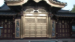 Ueno Tosho-gu shrine Stock Footage