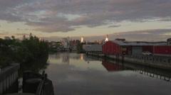 Gowanus Canal Brooklyn Stock Footage
