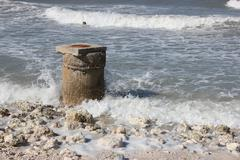 Ocean Pillar Stock Photos