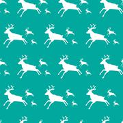 christmas pattern with special deers - stock illustration