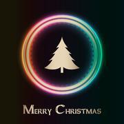 christmas background with plasma design - stock illustration