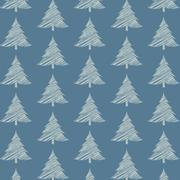 seamless christmas pattern with special design - stock illustration