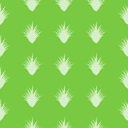 Seamless aloe vera pattern with special design Stock Illustration