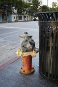 Rusty fire hydrant, Hollywood, California, USA Kuvituskuvat
