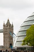 View of Tower Bridge Stock Photos