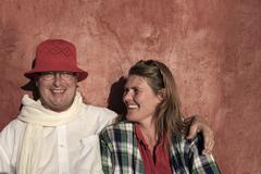 Happy couple, Sweden Stock Photos