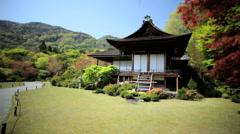Daijokaku Koch Sanso Mountain Villa Japanese garden Kyoto - stock footage