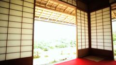 Daijokaku Koch Sanso Mountain Villa Japanese garden Kyoto Stock Footage