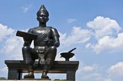 King Ramkhamhaeng the Great - stock photo