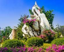 The Million Years Stone Park. Pattaya. Thailand Stock Photos