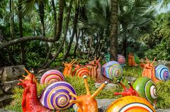 Nong Nooch Tropical Botanical Garden - stock photo