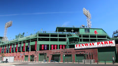 Fenway Park Exterior Wide Shot Arkistovideo