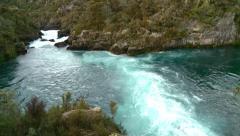 Arariatia Rapids timelapse - stock footage