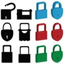 Stock Illustration of lock icons
