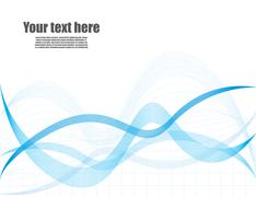 abstract background with special design - stock illustration